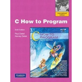 C: How to Program: International Edition, 6e
