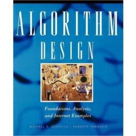 Algorithm Design - Foundations, Analysis & Internet Examples (WSE)