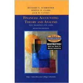 Accounting Theory: Text and Readings, 7e