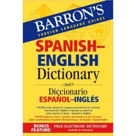 Barron's Spanish-English Dictionary: Diccionario Espanol-Ingles