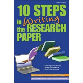 10 Steps in Writing the Research Paper 7E