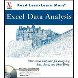 Excel Data Analysis: Your Visual Blueprint for Analyzing Data, Charts, and Pivot Tables