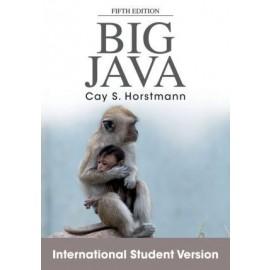 Big Java 5e International Student Version (WIE)