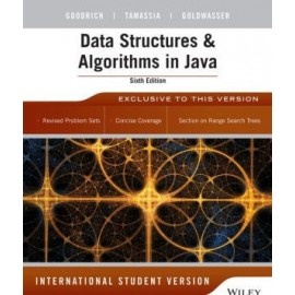 Data Structures & Algorithms in Java 6e International Student Version