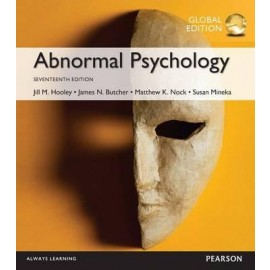 Abnormal Psychology 17e