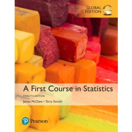 A First Course in Statistics, Global Edition, 12e