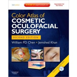 Color Atlas of Cosmetic Oculofacial Surgery with DVD, 2e