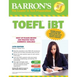 Barron's TOEFL iBT 14TH ED (Book only)