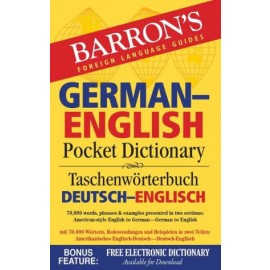 Barron's German-English Pocket Dictionary