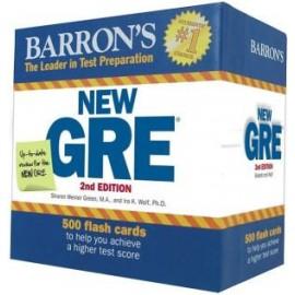Barron's GRE Flash Cards 2E