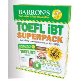 Barron's TOEFL iBT Superpack, 2ND