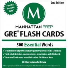500Essential Words: GRE Vocabulary Flash Cards, 2e