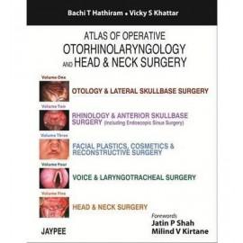 Atlas of Operative Otorhinolaryngology and Head & Neck Surgery (Five Volume Set)