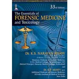 Essentials of Forensic Medicine and Toxicology 33E